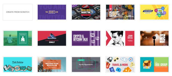 design facebook covers 2020 gig ideas