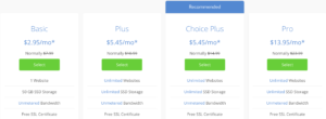 bluehost prices 2020
