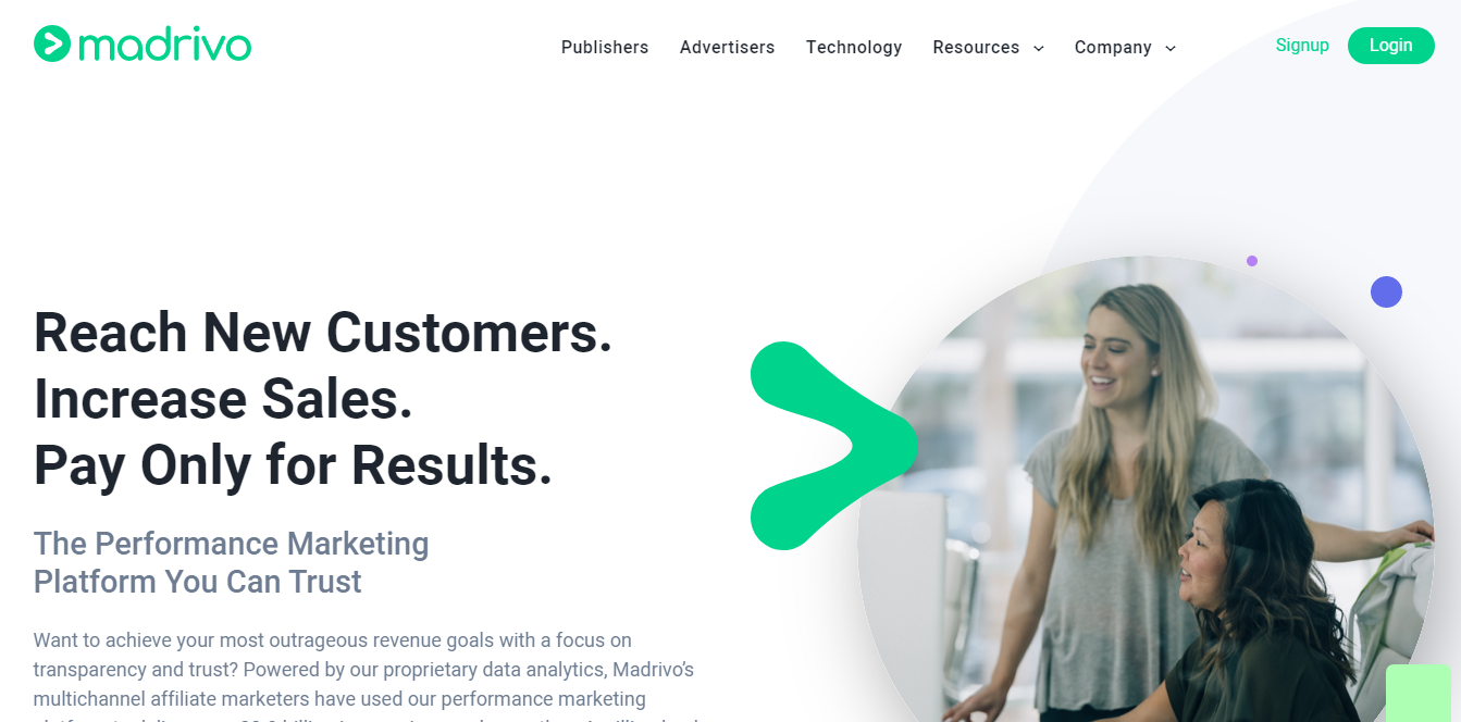 madrivo homepage 2020 review