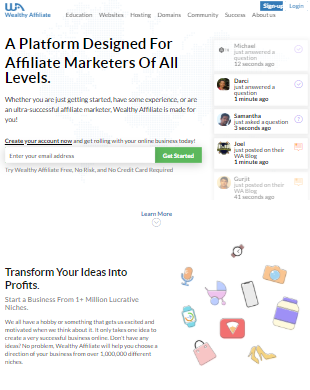 wealthy affiliate 2020 review university