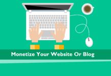 monetize your blog website in 2020 wordpress