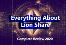 lion share review 2020 lionshare lion's smart contract